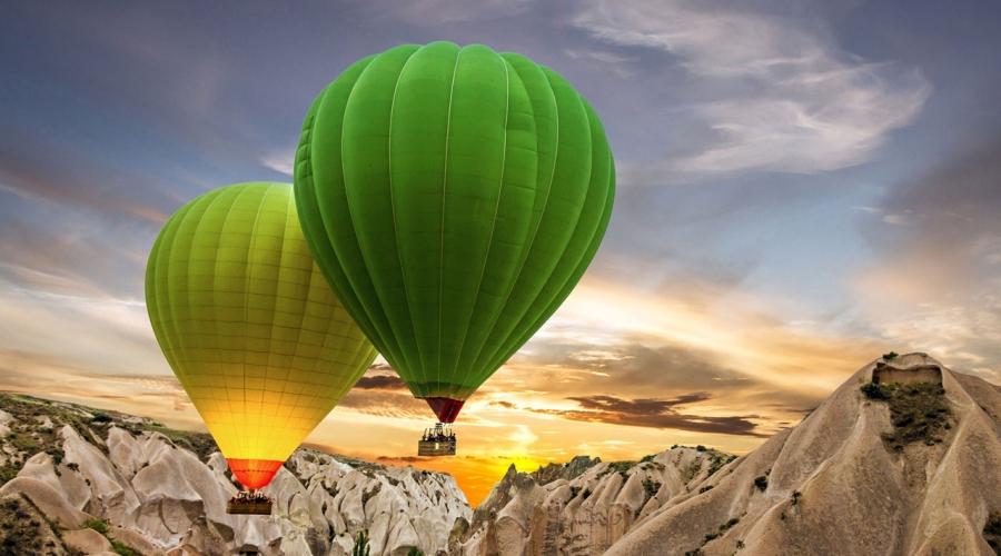 29 Ekim Doya Doya Uçakla Kapadokya Kayseri Turu